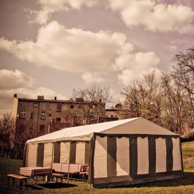 Wynajem namiotów